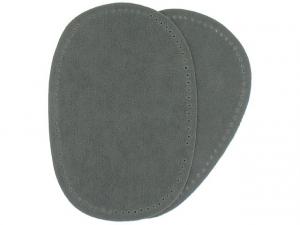 Renfort imitation daim gris