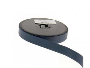 Biais simili cuir 20 mm Bleu pétrole