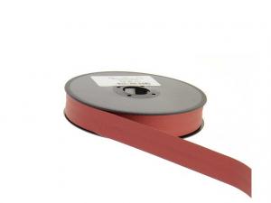 Biais simili cuir 20 mm Rouge